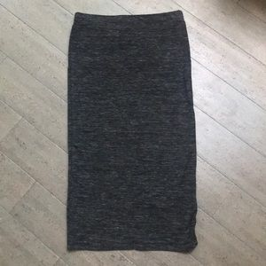 Zara Stretch Jersey Pencil Skirt